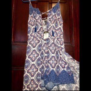 Flounce Maxi Dress
